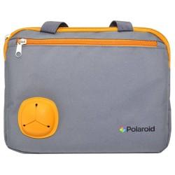 """Τσαντάκι Μεταφοράς Polaroid για Tablet έως 10.1"""" με Τσέπη Hands Free Γκρί (26 cm x 19 cm) - Expus"""