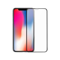 Tempered glass DeTech, για iPhone 11, 0.3mm, Μαυρο - 52550