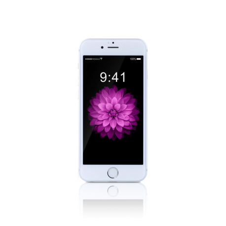 Tempered glass No brand, Full 5D, 0.15mm, Για το iPhone 6/6S, 0,3mm, Λευκο - 52436