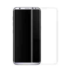 Πλήρες προστατευτικό γυαλί, No Brand, Για Samsung Galaxy S8, 0.3mm, Διαφανής - 52444
