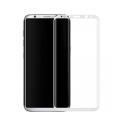 Πλήρες προστατευτικό γυαλί, No Brand, Για Samsung Galaxy S8 Plus, 0.3mm, λευκός - 52293