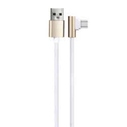 Kαλώδιο δεδομένων No brand C031, Micro USB, 1.0m, Χρυσός - 14974