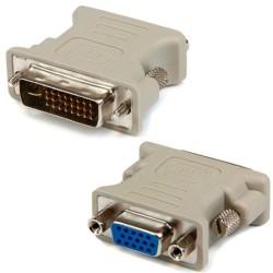 ΟΕΜ Αντάπτορας DVI-I - VGA 24+5, Λευκό - 17112