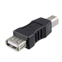 Αντάπτορας USB F to USB B M, No brand, Μαύρο - 17137