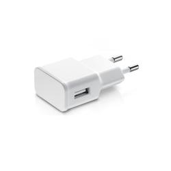 Φορτιστής δικτύου, No brand, 5V / 1A, 220V, Universal, 1 x USB, λευκό - 14861