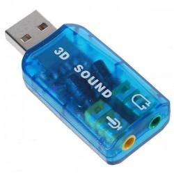 USB κάρτα ήχου No brand 5.1, 3D sound - 17009