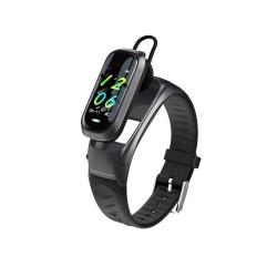 Smart bracelet No brand B9, 23mm, Bluetooth handsfree, IP52, Διαφορετικά χρώματα - 73038